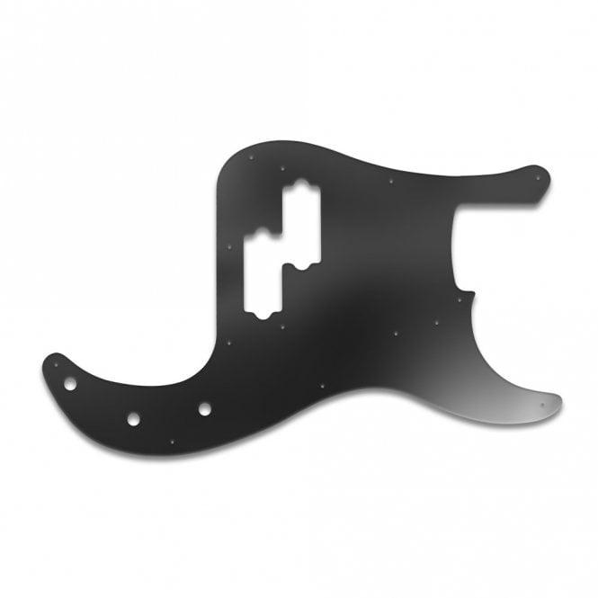 WD Music Fender Road Worn Series 50s P Bass - Black Acrylic