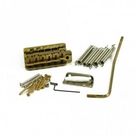 Vintage Tremolo System for Stratocaster, gold finish