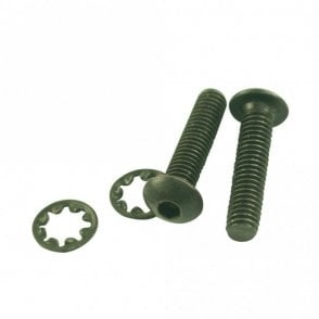 Nut Mounting Screw (Rear), Black
