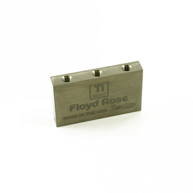 Floyd Rose Tremolo Block Titanium