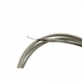 Silver Braided Gibson Wire - 2 ft length