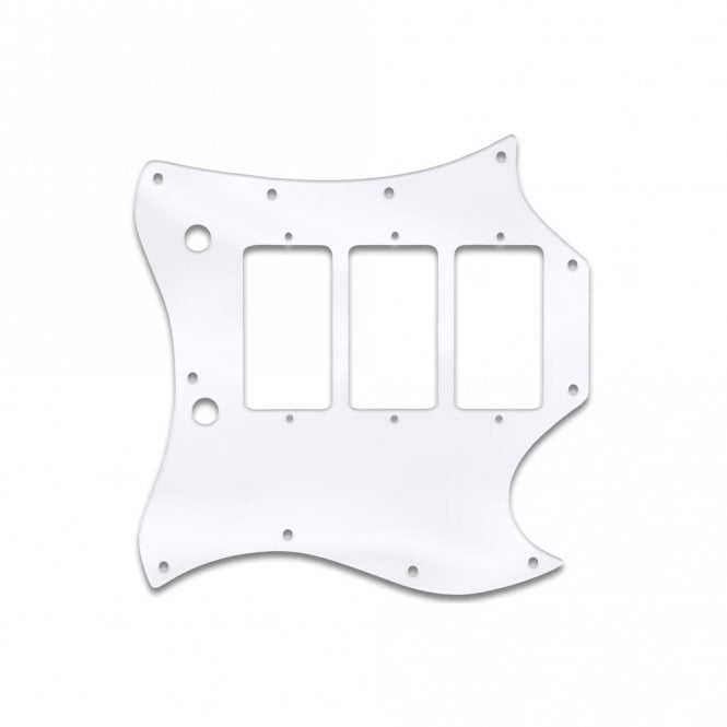 WD Music Gibson Sg Custom (Full Face) - Clear Acrylic (.125)