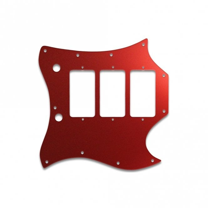 WD Music Gibson Sg Custom (Full Face) - Red Mirror