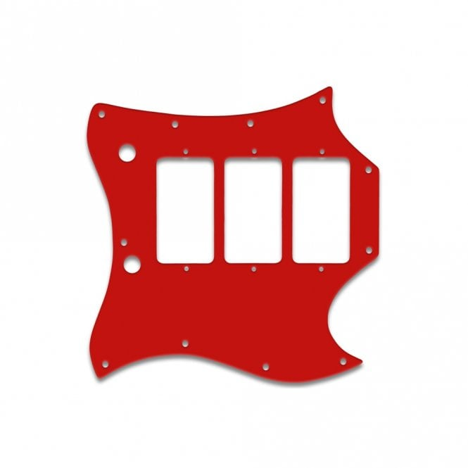 WD Music Gibson Sg Custom (Full Face) - Solid Red