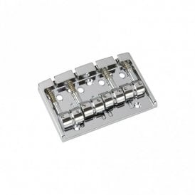 Bass Bridge Multi-Tonal Series 4 String Chrome Finish