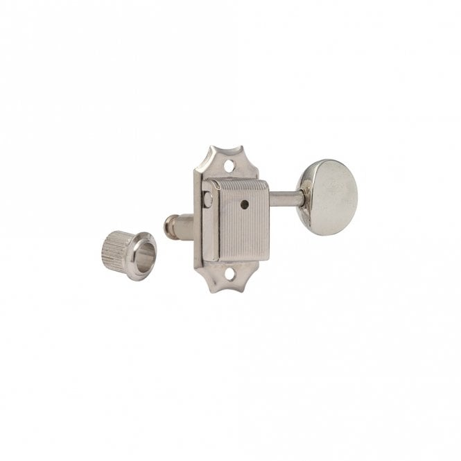 Gotoh Locking 3 Aside Vintage Style Nickel With Oval Nickel Buttons