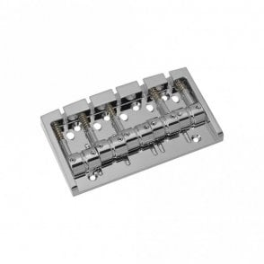 Multi-Tonal Bass Bridge 5 String Chrome Finish