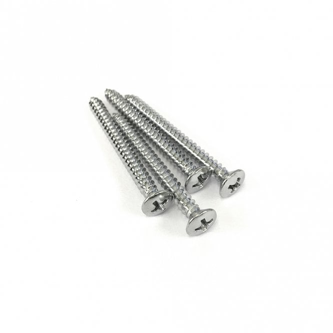 Gotoh Neck Screws Chrome (Bag Of 4)