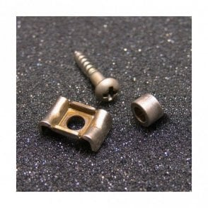 Nickel String Retainer with Screw and Spacer Aged Finish