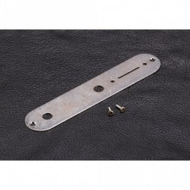 Telecaster Control Plate Relic Chrome Finish
