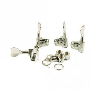 Titan Bass Tuner Set 2+2, with screws, washers and bushings