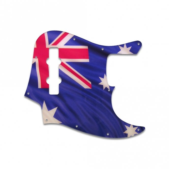 WD Music Highway One Jazz Bass - Aussie Flag