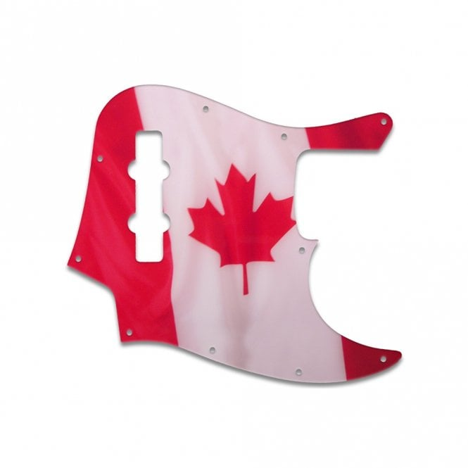 WD Music Highway One Jazz Bass - Canadian Flag