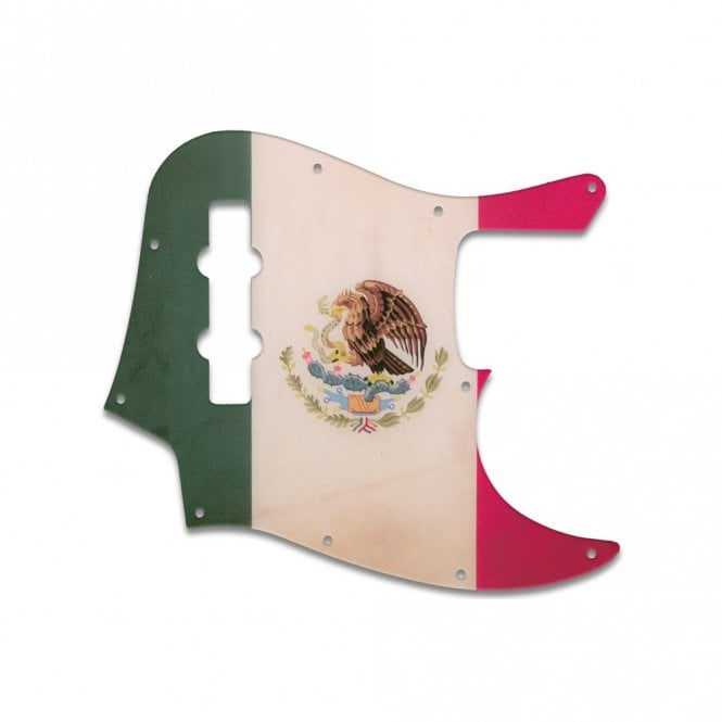 WD Music Highway One Jazz Bass - Mexican Flag Relic