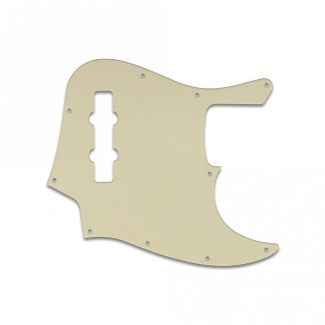 WD Music Highway One Jazz Bass - Parchment 3 Ply