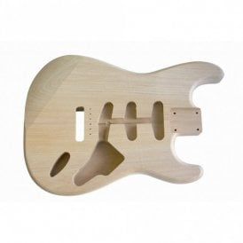 2 Piece Alder Unfinished and Unsanded Stratocaster Replacement Body
