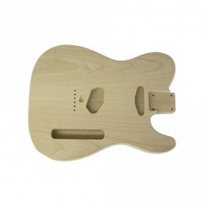 2 Piece Alder Unfinished And Unsanded Telecaster Replacement Body
