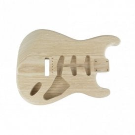 Replacement Stratocaster Premium One Piece Ash Body, 50's Style