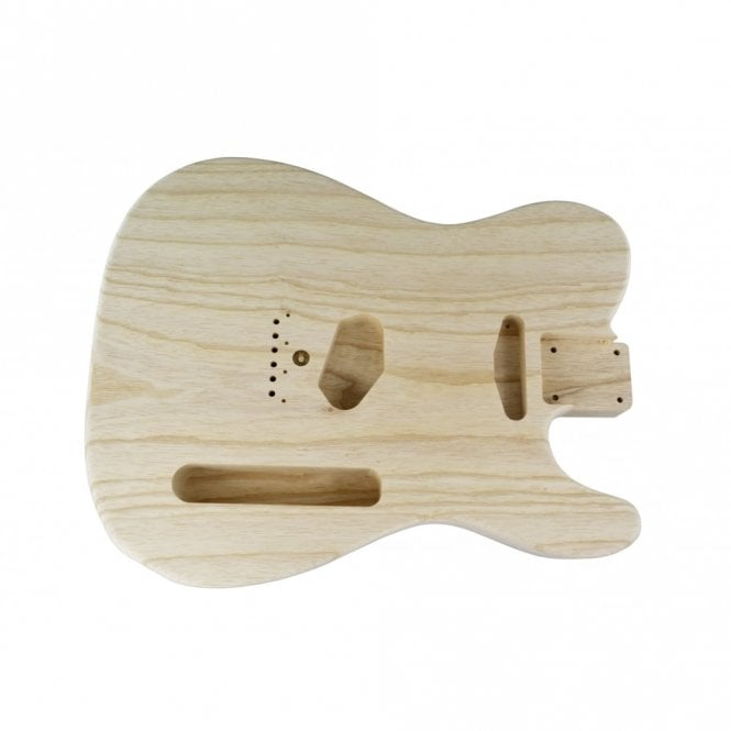 Hosco Replacement Telecaster Premium One Piece Ash Body, 50's Style
