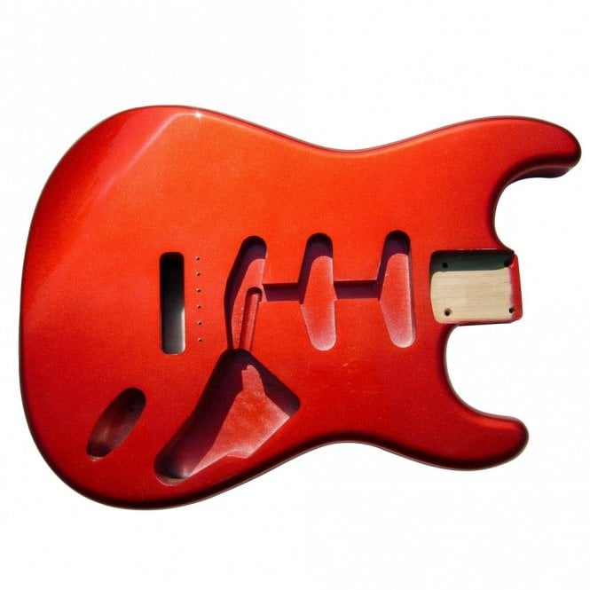 Hosco Strat Body Metallic Red