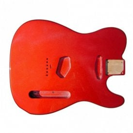 Tele Body Metallic Red