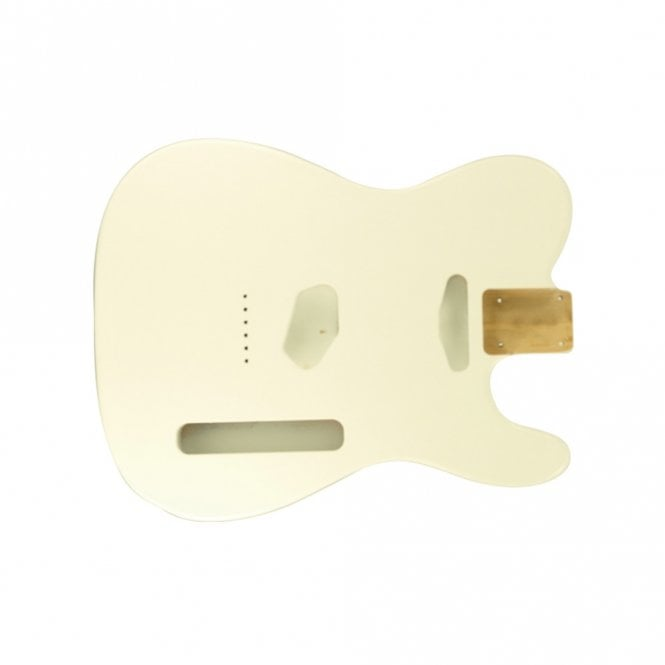 Hosco Tele Body Vintage White