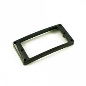 Humbucker Mounting Ring High Black Arched