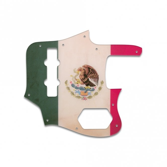 WD Music Jaguar Bass CIJ - Mexican Flag Relic