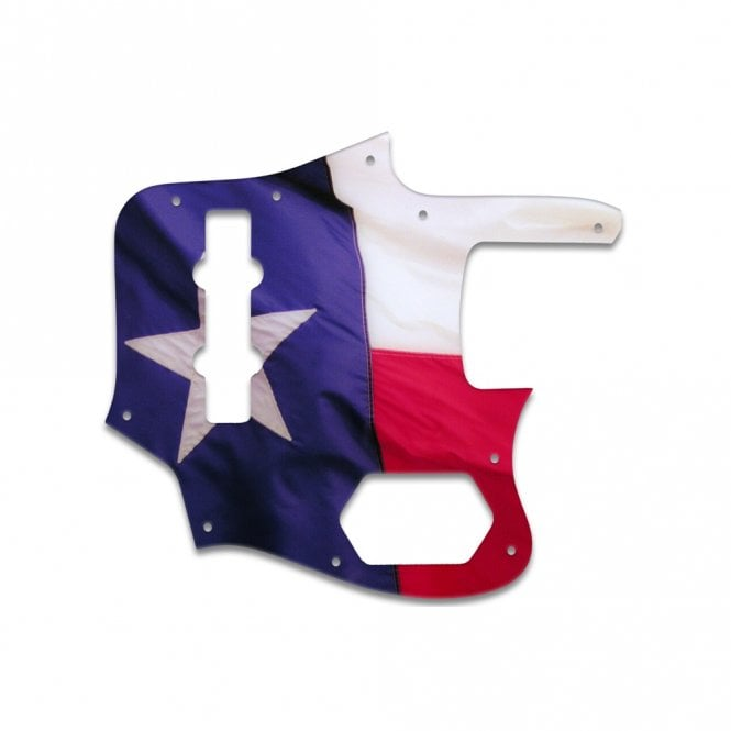 WD Music Jaguar Bass CIJ - Texas Flag