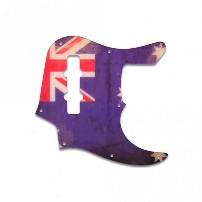 WD Music Jazz Bass (22 Fret) - Aussie Flag Relic