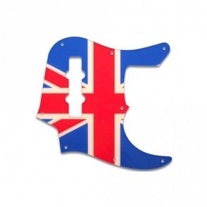 Jazz Bass (22 Fret) - British Flag