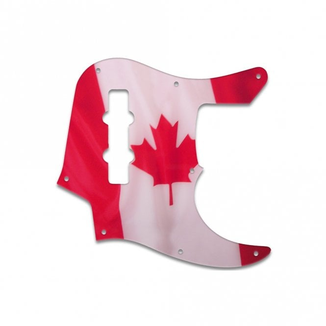 WD Music Jazz Bass (22 Fret) - Canadian Flag