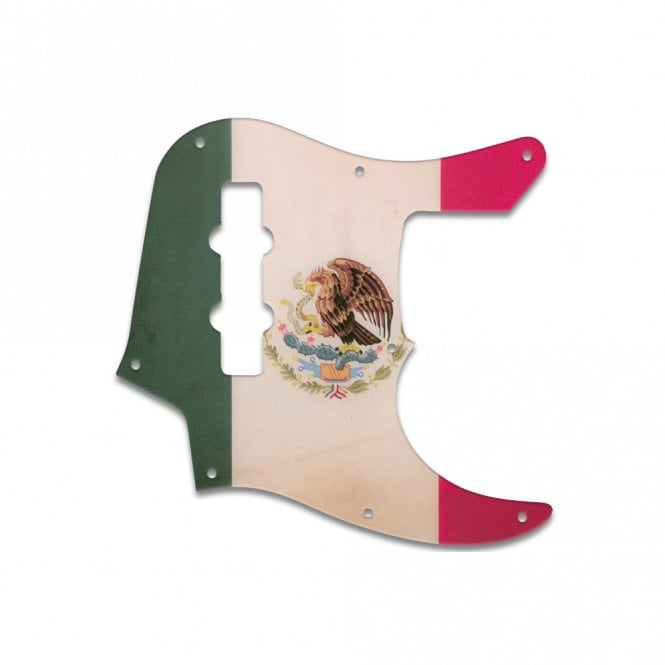 WD Music Jazz Bass (22 Fret) - Mexican Flag Relic