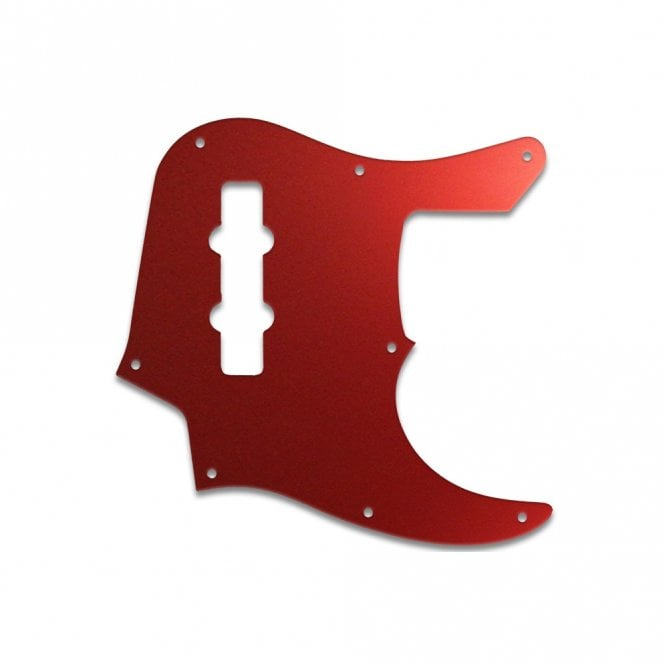 WD Music Jazz Bass (22 Fret) - Red Mirror