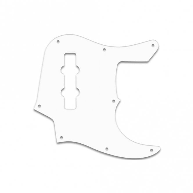 WD Music Jazz Bass (22 Fret) - Solid White
