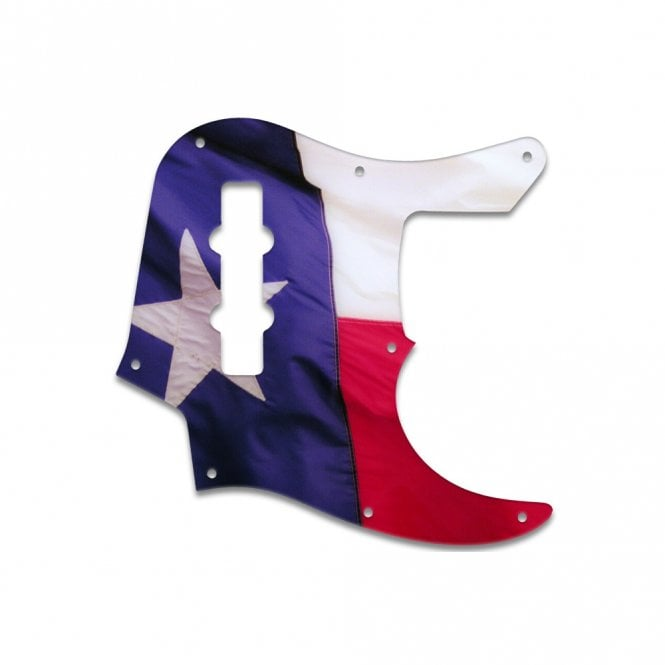 WD Music Jazz Bass (22 Fret) - Texas Flag
