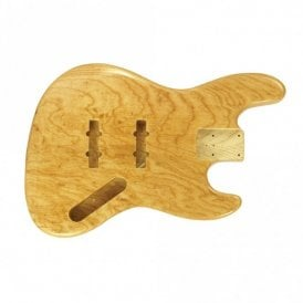jazz bass body swamp ash clear