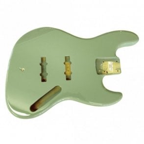 Jazz Bass Body Tropical Green