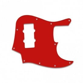 Jazz Bass Modern Player - Red White Red