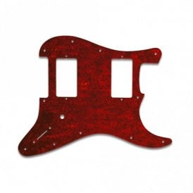 Jim Root Strat - Pickguard Red Shell