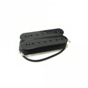 "7 String Humbucker Black Open ""Rocker"""