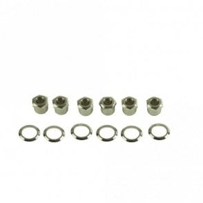 Kluson Hex Head To Vintage Adapter Bushing Kit Metric