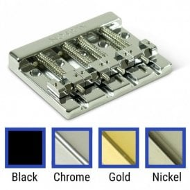 High Mass 4 String Bass Bridge Zinc