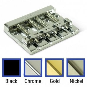 High Mass 4 String Bass Bridge Zinc With Brass Saddles