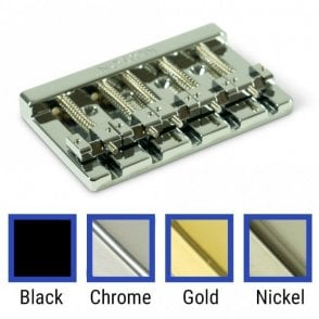 High Mass 5 String Bass Bridge Zinc
