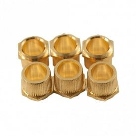 Push-Fit Hex Head Tuning Machine Bushings (Set of 6)