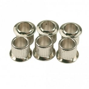 Push-Fit Tuning Machine Bushings For Vintage Fender (Set of 6)