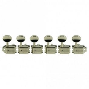 Supreme 6 In Line Oval Buttons 18:1 Gear Ratio with Staggered Safety Posts