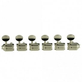 Traditional 6 In Line Tuners, Double Row Stamp, Locking