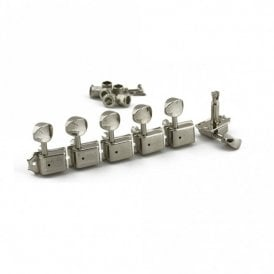 Traditional 6 In Line Tuners With Double Line Stamp